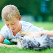 Any boy&#039;s best friend - Stockfoto