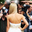 Her picture will grace the stands worldwide - Celebrity Lifestyle - Stockfoto