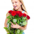 I've got a secret admirer! - Stock Photo