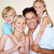 Keeping the family close - Foto Stock