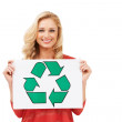 Royalty-Free Stock Photo: Go green for the good of the earth!