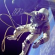 The first spacewalk ever performed - Foto de Stock