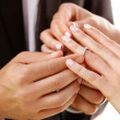 With this ring... - Stock Photo