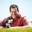 Man's best friend - Stock Photo