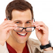 Royalty-Free Stock Photo: This man has vision