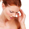 Royalty-Free Stock Photo: Suffering with a headache