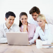 Finding great corporate solutions - Stock Photo