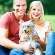 She completes our little family - Stockfoto