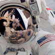 Capturing a moment in space - Stock Photo
