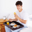 Breakfast is the most important meal of the day - Foto Stock