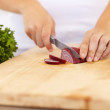 Royalty-Free Stock Photo: Preparing to make a delicious meal