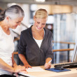 Senior members get contract benefits at this gym! - Stock Photo