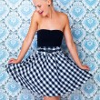 I feel pretty! - Retro chic - Stock Photo