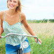 Easy riding outdoors - Stock Photo