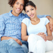 Royalty-Free Stock Photo: They are such a happy couple