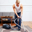 Doing the chores - Stock Photo