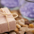 Beauty soap is a gift to your skin - Stock Photo