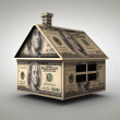 Money house - Stock Photo