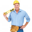 Handsome handyman - Stock Photo