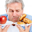 Royalty-Free Stock Photo: Choices...choices...choices - Healthy Eating