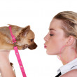 Puppy love - Stockfoto