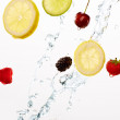 Falling fruit! - Stockfoto