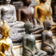 Buddha statuettes - Stock Photo