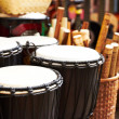 Traditional drums - 图库照片