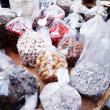 Dried fruits and nuts for sale - Stockfoto