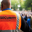 Royalty-Free Stock Photo: Crowd control