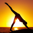 Seeking the perfect mind and body balance - Fitness goals - Foto Stock