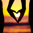 Royalty-Free Stock Photo: Summertime love and sunset