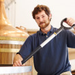 Passionate about brewing good beer - Stock Photo