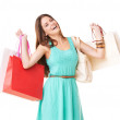 It&#039;s official - I&#039;m a shopaholic! - Stock Photo