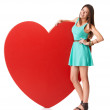 Promoting healthy happy hearts - Foto Stock