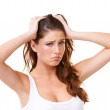 This stress is geting to me! - Stock Photo