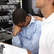 We're getting nowhere! - Networking issues - Stock Photo