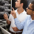 Troubleshooting to locate the problem - Stock Photo