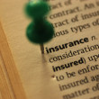 Definition of insurance — Stock Photo