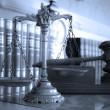 Stock Photo: Scales of Justice