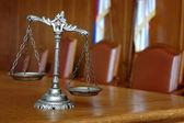 Decorativi bilancia della giustizia — Foto Stock