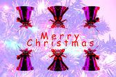 Christmas blur background — Stock Photo