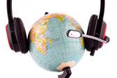 Global communication — Stock Photo