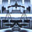 Decorative Scales of Justice — Stock Photo #21641113