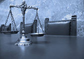 Decorative Scales of Justice — Stock Photo