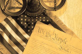 United States Constitution — Stock Photo