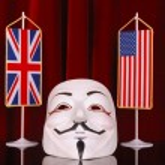 UK and USA anonymous — Stock Photo #50740045