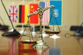 International Law and Order — Stock Photo