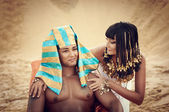 Egyptian Queen — Stock Photo