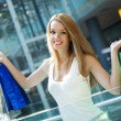 Shopping woman — Stock Photo #12523987